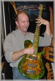 Luthier, bass player and all 'round great guy our own Kevin Brubaker.