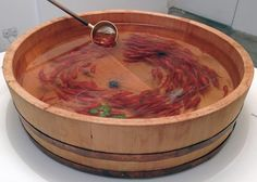 3D Goldfish Paintings, by Ryusuke Fukahori; this is crazy! The fish look so real but it's paint!