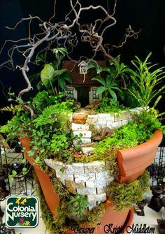 Fairy garden by Kristin Middleton