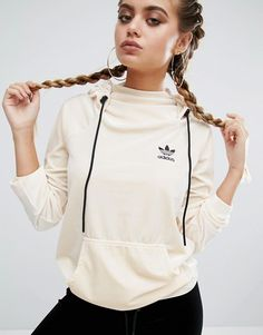 adidas Originals Velvet Pullover Hoodie