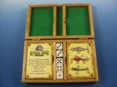 Lures Of The Past Playing Cards 2 Deck with Dice Boxed Set