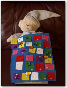 Kids craft they will adore: make a quilt for your teddy.