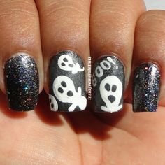 halloween by ale1mtz    #nail #nails #nailart