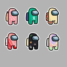 Cute Patterns Wallpaper, Wallpaper Iphone Cute, Disney Wallpaper, Preppy Stickers, Cool Stickers, Anime Stickers, Printable Stickers, Homemade Stickers, Aesthetic Stickers