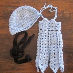 Blue hook set for sweet doll or paola reina