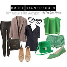 Bruce Banner/ The Hulk, created by thatdarnalyssa on Polyvore