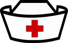 Cap Drawing, Nurse Symbol, Nurse Appreciation Week, Mickey Mouse Art, Nurse Hat, Photo Booth Props, Props Photobooth, Stencil Art, Clips