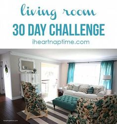 30 day living room makeover!! I Heart Nap Time | I Heart Nap Time - Easy recipes, DIY crafts, Homemaking