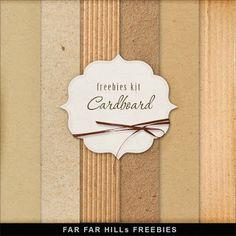 Scrapbooking TammyTags -- TT - Designer - Far Far Hill,  TT - Item - Paper, TT - Texture - Cardboard or Craft Paper
