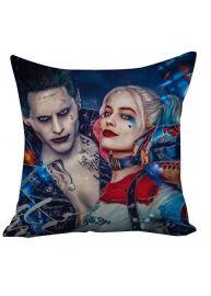 Suicide Squad Margot Robbie Harley Quinn And Joker Cushion Case