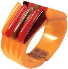 Bakelite Philadelphia Clamper Bracelet