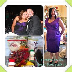 My Juice Plus journey week 1-8