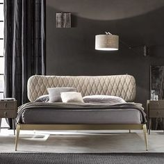 Iron beds, bedroom furniture and home furnishings production - Cantori Bedroom Furniture For Sale, Bed Furniture, Leather Furniture, Furniture Design, Sofa Design, Sofa Come Bed, Double Bed Designs, Platform Bed Designs, Adjustable Beds