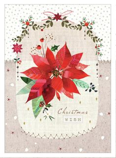 Lynn Horrabin - Poinsettia Art