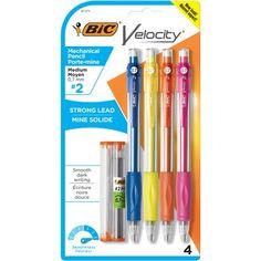 Bic Mechanical Pencils, Best Mechanical Pencil, Cool School Supplies, Craft Supplies, Office Supplies, Kids Gift Baskets, Locker Decorations, Ramadan Gifts, Wooden Bow