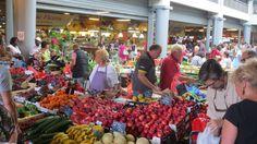 Capucins Market in the center of Bordeaux