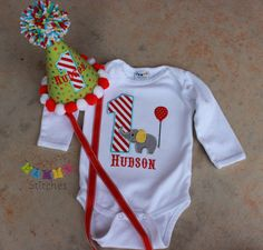 Hey, I found this really awesome Etsy listing at http://www.etsy.com/listing/124251221/circus-birthday-shirt-and-party-hat-set