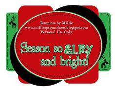 Sylly Creationz Template   SantaS Naughty List   Templates
