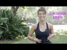 5 Minute Ab Blast - YouTube