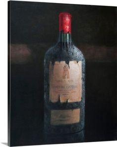 Lincoln Seligman Premium Thick-Wrap Canvas Wall Art Print entitled Chateau Latour, 2012, None
