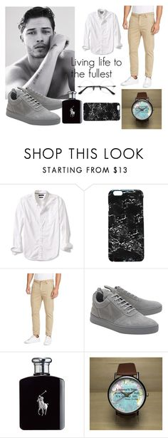 """Men's fashion was harder than i thought"" by matildaforss on Polyvore featuring Banana Republic, Rianna Phillips, William Rast, Filling Pieces, Ralph Lauren, men's fashion and menswear"