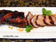 Call Me PMc: Balsamic Pork Loin/ Pesto Pork Wrap