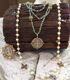 Virgins, Saints & Angels Jewelry - handcrafted in Mexico #virginssaintsandangels #vsa #sarahcarolyn