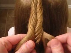 How to do a Fishbone Braid... I can do it now thanx to this video!!