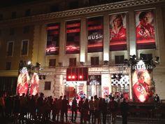 #Rush: Il video della première italiana del film di Ron Howard