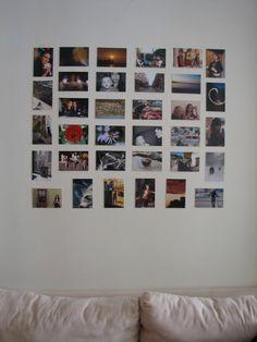 Bedroom Photo Collage Ideas