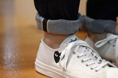 thedownlowe:  Comme Play x Jack Purcell.