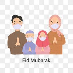 Eid Mubarak Quotes, Eid Mubarak Images, Ied Mubarak, Muslim Greeting, Muslim Family, Beautiful Quran Quotes, Eid Al Fitr, Character Illustration, Islamic Art