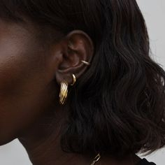 Pearl Earrings, Hoop Earrings, Jewelry Canada, Gold, Hair Beauty, Italy, Closure, Products, Fashion