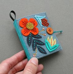 More details on each at the shop . Update: There is a pattern available for this now: the Flora Needle Book pattern, avail...