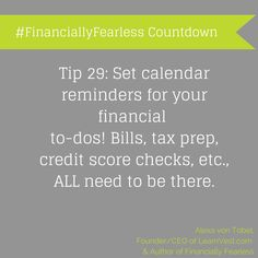 We're counting down the days until #FinanciallyFearless debuts with some of our fave tips from the book!