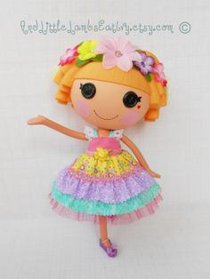 Lalaloopsy Clothes  LayerCake Dress  by AndLittleLambsEatIvy, $14.00