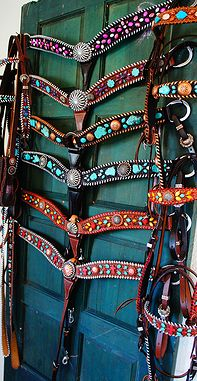 Horse tack by Western Dove