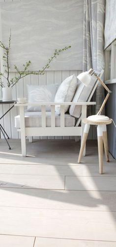 Beach chair in Cool greys  #linen #grey linen #fabric #grey fabric #designer linen #designer fabric #coastal