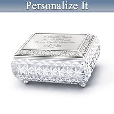 My Daughter, I Love You Always Personalized Music Box