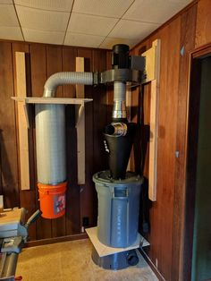 Shop Dust Collection, Woodworking Projects, Diy Projects, Garage Organisation, Workshop Layout, Dust Collector, Wood Dust, Cool Tools, Home Appliances