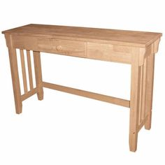 Mission 1-Drawer Console Table - JCPenney
