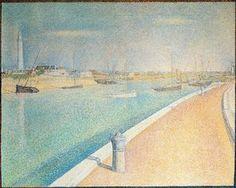Le port de Gravelines - (Georges Pierre Seurat)