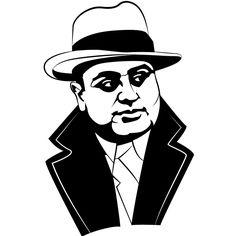al capone by ink4rt on deviantart http cbtopsites com find rh pinterest com Al Capone Descendants Al Capone Dead Body