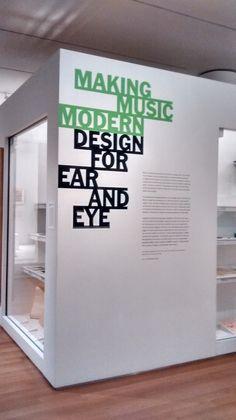 Making Music Modern Exhibition