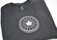 Sliver Glitter Mandala Marijuana Leaf T-Shirt - Marijuana Shirt - Cannabis Leaf T-Shirt by TrippyDrippyShop on Etsy