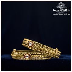 KalaMandir Jewellers Ltd. Best Gold, Diamond & Platinum Jewellery Showroom Brands in India Gold Bangles Design, Gold Jewellery Design, Gold Jewelry, Gold Necklaces, Antique Jewellery Designs, Antique Jewelry, Jewellery Showroom, Bridal Bangles, Platinum Jewelry