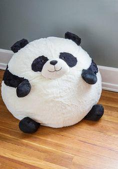 Panda Party Bean Bag Chair, #ModCloth O.M.G....thats all I can say!!! love love love