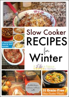 Slow Cooker Recipes for Winter