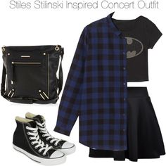 """""""Teen Wolf - Stiles Stilinski Inspired Concert Outfit"""" by staystronng on Polyvore"""