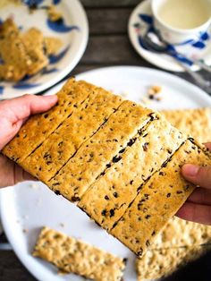 A classic British biscuit (cookie) made with currants sandwiched between not-too-sweet crunchy biscuit! British Biscuits, British Cookies, British Biscuit Recipes, Scottish Recipes, Garibaldi Biscuits, Sweet Recipes, Vegan Recipes, Cookie Recipes, Dessert Recipes